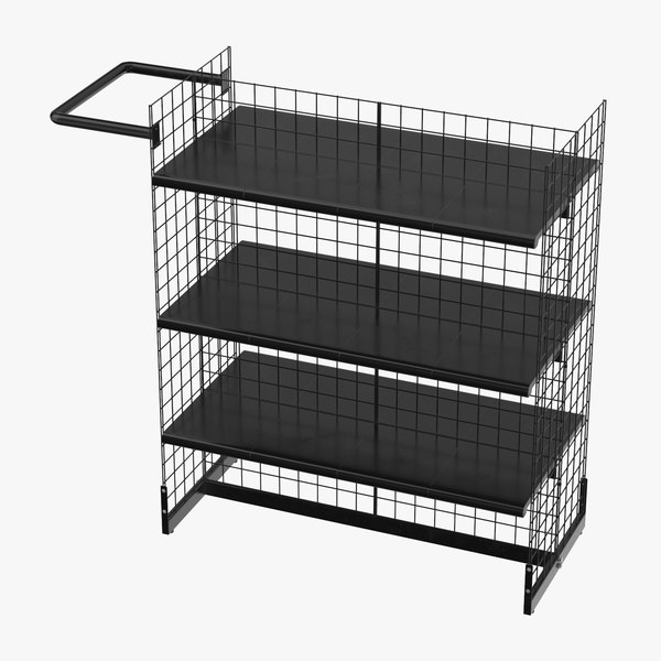 retail shelf 06 3D model