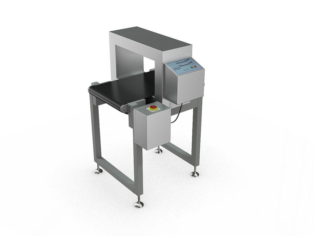 3D industrial conveyor model