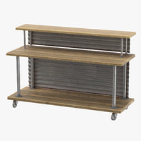 3D deli bakery rack 01