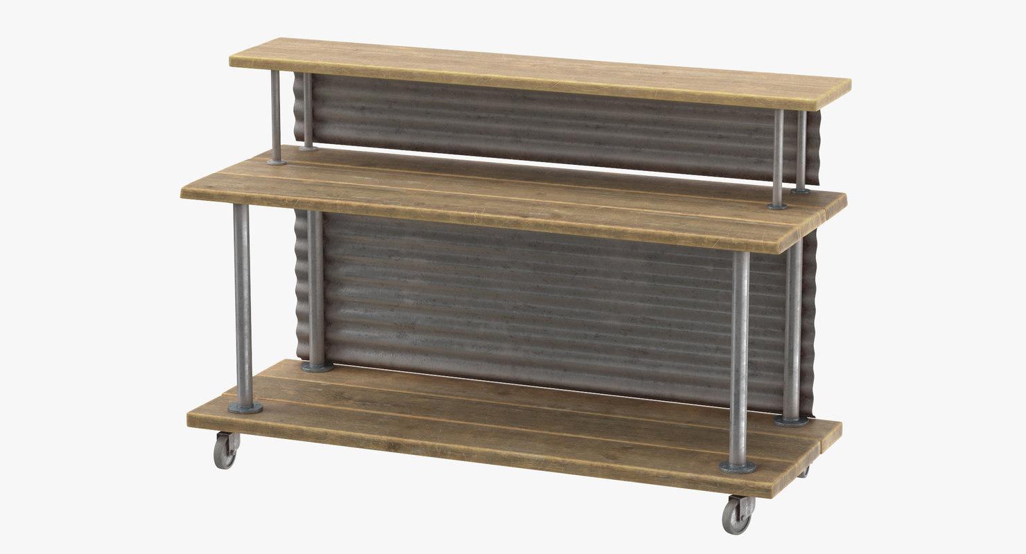 3D deli bakery rack 01