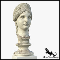 3D hera bust old