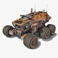 exoplanet rover 3D