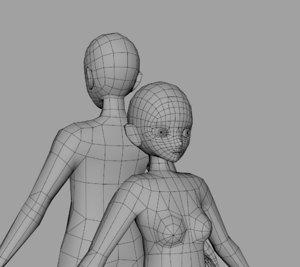 base anime 3D