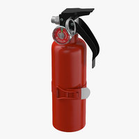 3D extinguisher small model