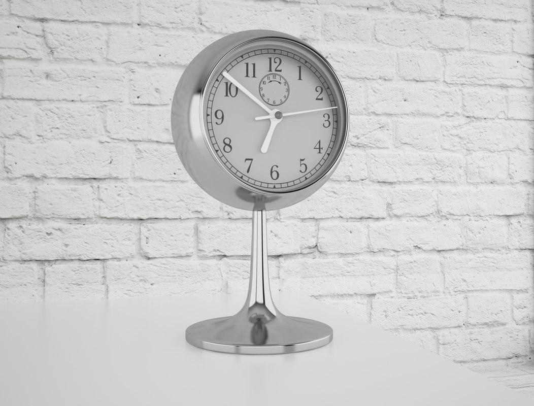 hour clock 3D model