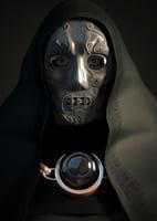 3D doom mask model