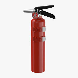 extinguisher medium 02 3D model