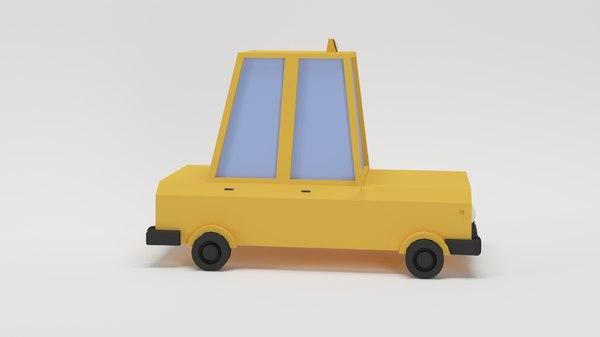 3D model taxi