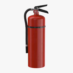 3D extinguisher large