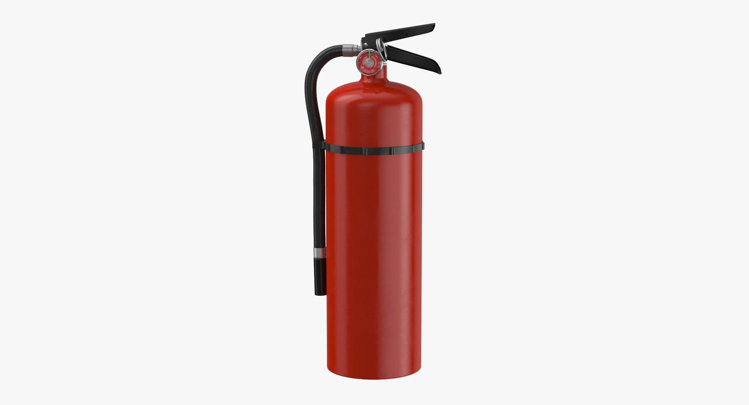3D extinguisher large