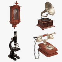 antique set 3D model