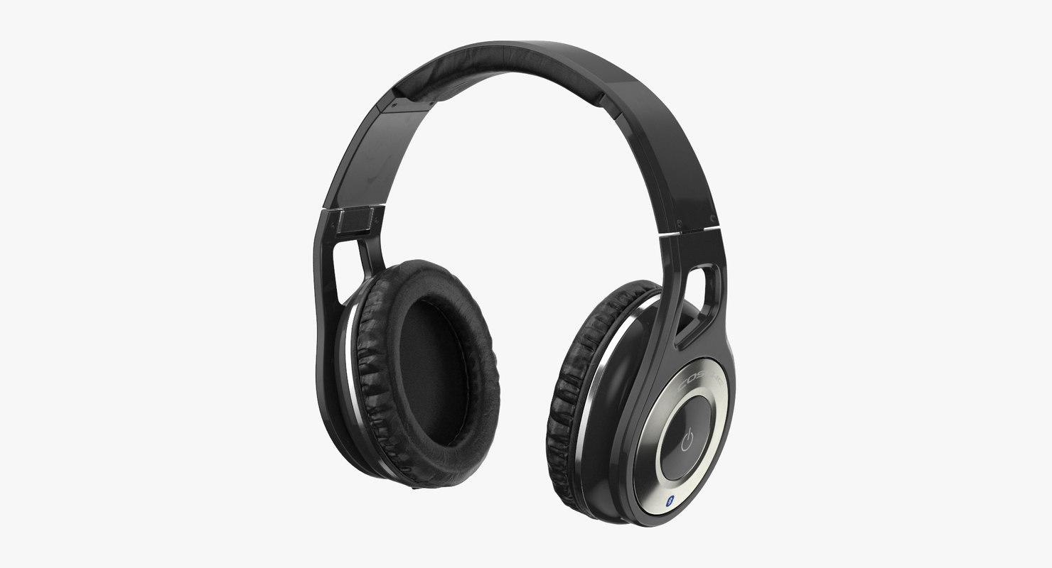 3D headphones head phone