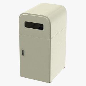 trashcan 02 01 3D