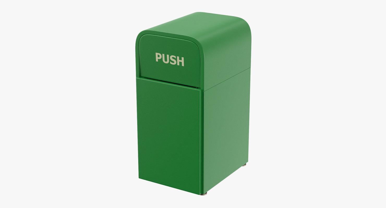 trashcan 02 3D model
