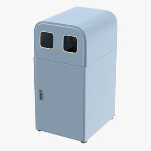 trashcan 02 04 3D model