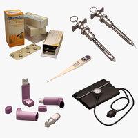 medical set model