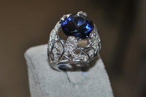 3D gems ring model