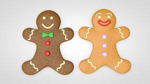 gingerbread man model
