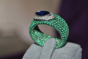 3D model ring gem matrix