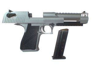 gun desert eagle xix 3D model
