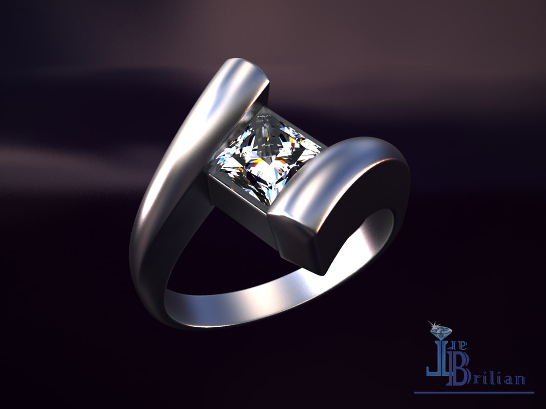 elite ring 3D model