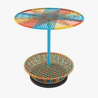 3D model spinning tops ersware