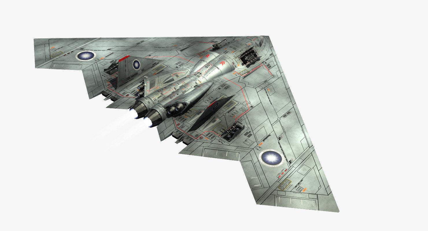 freya interior space raider 3D model