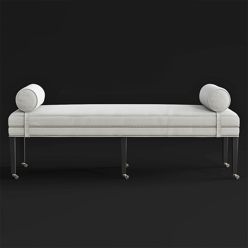 taylor king brunswick bench8813 3D model
