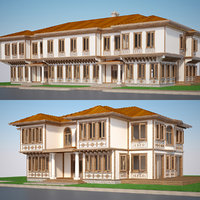 modern turkish house 3D