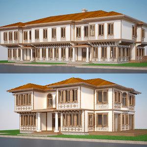 modern turkish house 3D