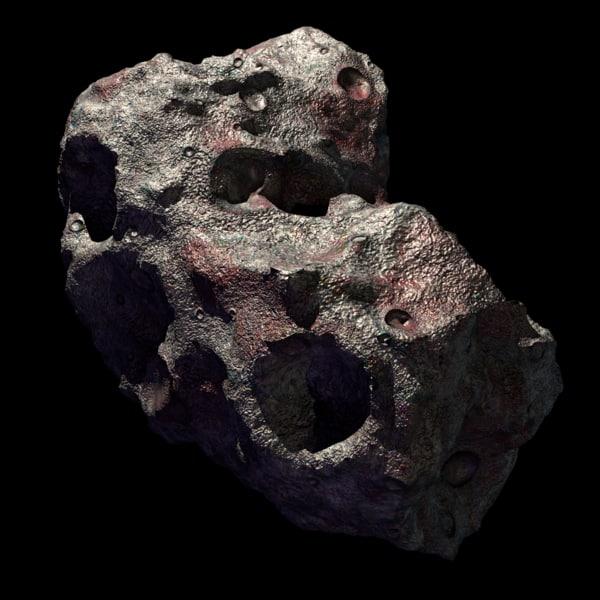 asteroid 1 3D model