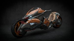 concept motorcycle 3D model