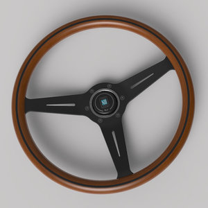 3D model nardi wood classic edition