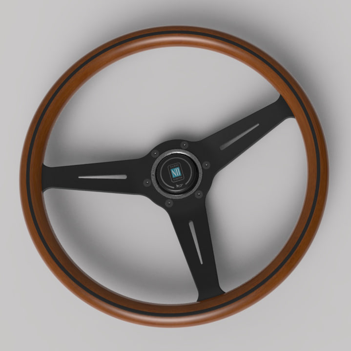 3D model nardi wood classic edition