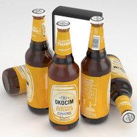 3D beer okocim model