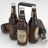 beer porter okocim 3D