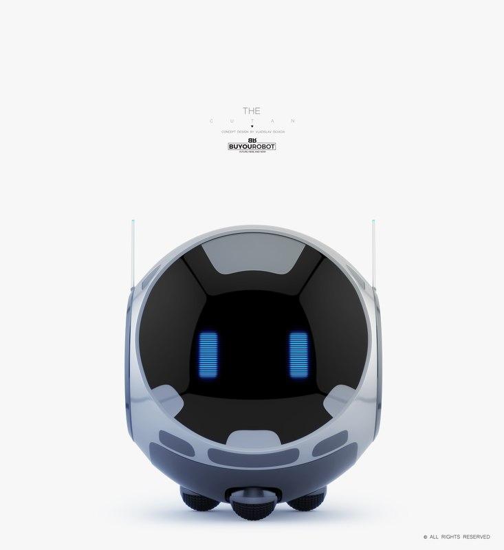 baby monitor 3D model