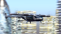Uber Fly Taxi Drone Vray 3d model