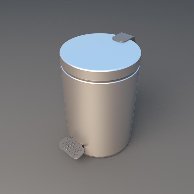 3D aluminum office model