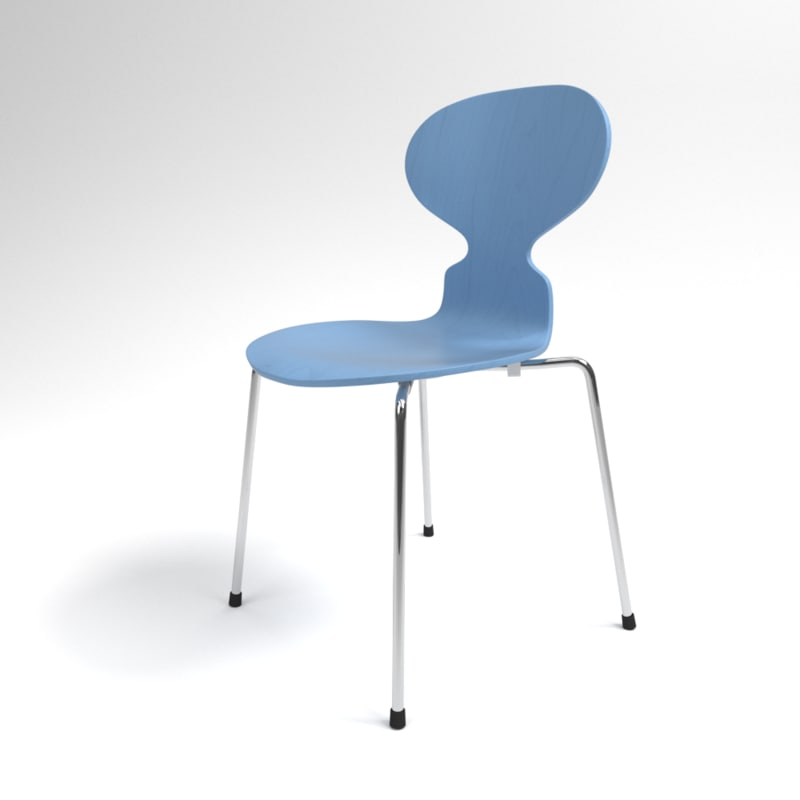 3D interior fritz hansen ant model