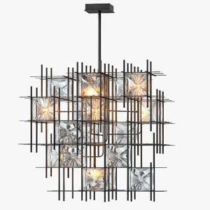 3D wired custom lighting hatch