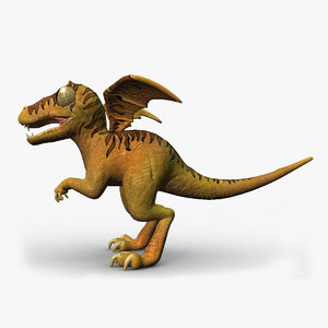 little dinosaur toy 3D model