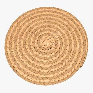 placemat 2 3D model