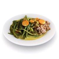 3D lunch vegetarian model
