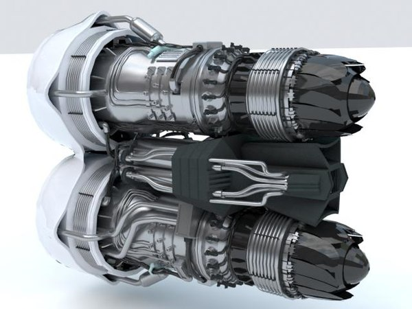 3D model dual jet sc
