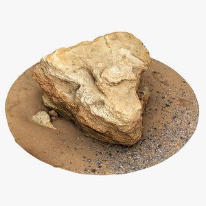 limestone 3 3D model