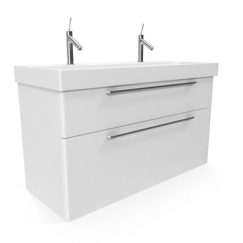 sink unit 3D