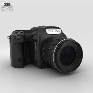 pentax 645z 645 3D model