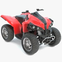 3D model real-time 4-wheeler