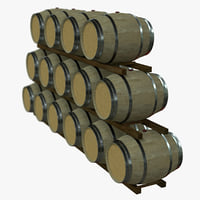 Wine Barrel Rack - PBR